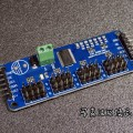 ArduinoとAdafruit 16-channel Servo Driverでサーボモーター多数制御