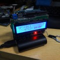 ArduinoとGPSシールドでGPS時計とおまけの電波時計調整機能付き