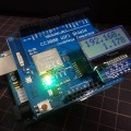 SwitchScienceのI2C接続小型LCDディスプレイを使ってみる