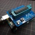 Arduino用AVR ISPシールドでブートローダを書き込む