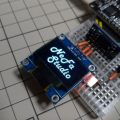 Show bitmap image on OLED display with Arduino/ESP board (Tool provided)