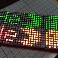 Arduinoでドットマトリクス表示 Part2 スプライト表示